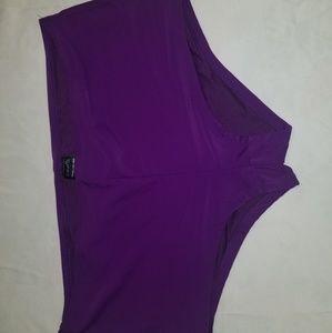 2X(18w/20w) purple bikini bottoms